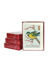 Bird on Branch Boxed Notecards