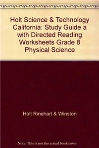 Study Guide a with Directed Reading Worksheets Grade 8
