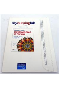 Mynursinglab Student Access Code Card for Kozier & Erb's Fundamentals of Nursing