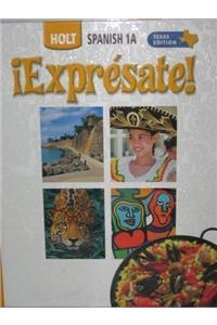 ?Expr?sate! Texas: Student Edition Level 1a 2006