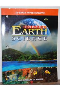 Modern Earth Science: In-Depth Investigations