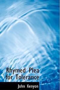 Rhymed Plea for Tolerance
