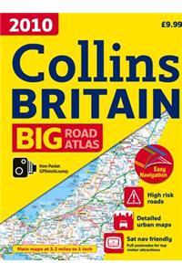 2010 Collins Big Road Atlas Britain