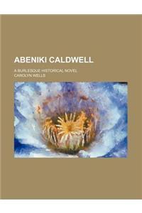 Abeniki Caldwell; A Burlesque Historical Novel