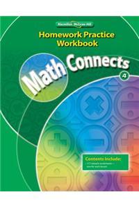 Math Connects 4, Homework Practice Workbook