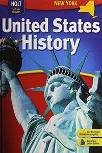 Holt United States History New York: Student Edition Grades 6-9 2007
