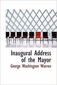 Inaugural Address of the Mayor