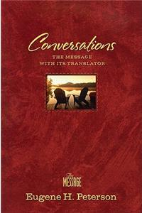 Conversations Bible-MS: The Message Bible with Its Translator