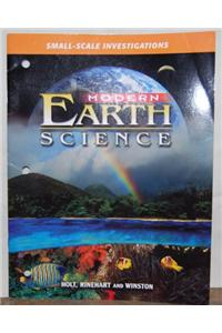 Modern Earth Science: Small-Scale Investigations