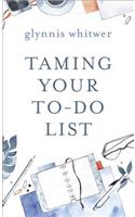 Taming Your To-Do List