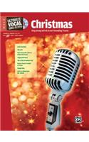 Ultimate Vocal Sing-Along Christmas: Male Voice, Book & Enhanced CD