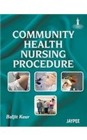 Community Health Nursing Procedures