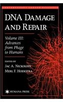 DNA Damage and Repair: Advances from Phage to Humans