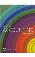 Accounting: A Foundation