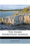 The Hindi Shorthand Manual