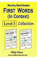 First Words in Context: Level 3: Learn the Important Words First.