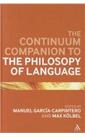 Continuum Companion to the Philosophy of Language