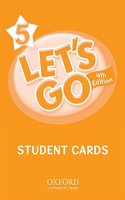 Let's Go 5 Student Cards: Language Level: Beginning to High Intermediate. Interest Level: Grades K-6. Approx. Reading Level: K-4