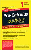 1001 PRECALCULUS PRACTICE PROBLEMS FOR D