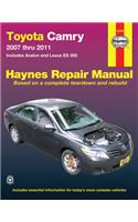 Haynes Toyota Camry and Lexus ES 350 Automotive Repair Manual: Models Covered: Toyota Camry and Avalon, and Lexus ES 350 Models 2007 Ttrhoug 2011