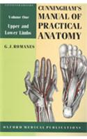 Cunningham's Manual Of Practical Anatomy, Vol 1