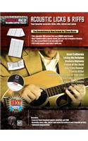 Acoustic Licks & Riffs: Your Favorite Acoustic Licks, Riffs, Intros, and Solos, Poster / Folder / Triangular Display