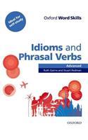 Oxford Word Skills: Advanced: Idioms & Phrasal Verbs Student Book with Key
