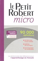 Petit Robert Micro 2014