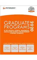 Graduate Programs in the Physical Sciences, Mathematics, Agricultural Sciences, the Environment & Natural Resources 2020