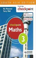 Cambridge Checkpoint Maths Student's Book 3 SAE