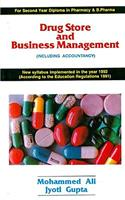 Drug Store and Business Management: Including Accountancy