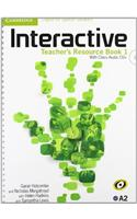 Interactive for Spanish Speakers Level 1 Teacher's Resource Book with Class Audio CDs (3)