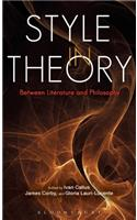 Style in Theory: Between Literature and Philosophy