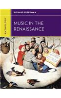 Anthology for Music in the Renaissance