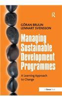 Managing Sustainable Development Programmes