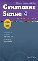 Grammar Sense 4 Student Book with Online Practice Access Code Card