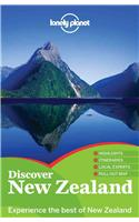 Lonely Planet Discover New Zealand [With Map]