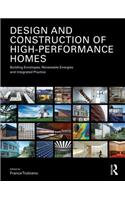 Design and Construction of High Performance Homes