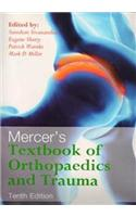 Mercer'S Textbook Of Orthopaedics And Trauma