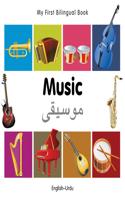 My First Bilingual Book-Music (English-Urdu)