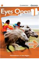 Eyes Open Level 1 Workbook with Online Practice