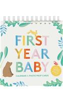 First Year Baby Calendar & Photo Prop Cards