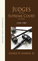 Judges of the Supreme Court of India: 1950-89
