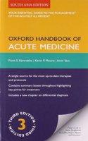 Oxford Handbook Of Acute Medicine 3/e PB
