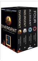 Divergent Series Box Set (books 1-4 plus World of Divergent)