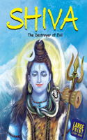 Large Print Shiva The Destroyer Of All Evil