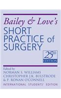 Bailey & Lover's Short Practice Of Surgery (Ex) P.B.(E) : 25/Ed, 2008