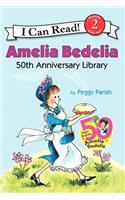 Amelia Bedelia 50th Anniversary Library: Amelia Bedelia, Amelia Bedelia and the Surprise Shower, and Play Ball, Amelia Bedelia