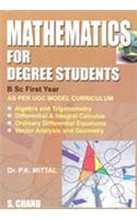 Mathematics for Degree Students: B.Sc 1st Year