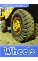 Oxford Read and Discover: Level 1: Wheels Audio CD Pack